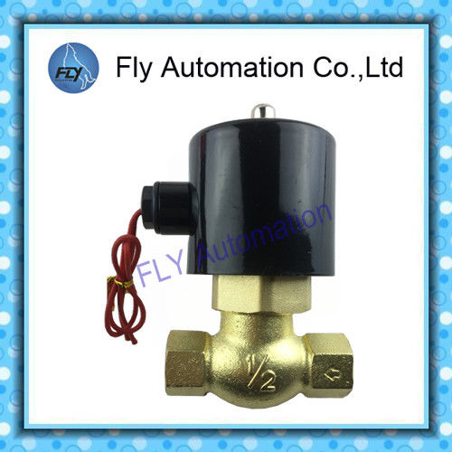 "Taiwan UNID Series Water Solenoid Valves 1/2"" 3/4"" Brass Valve US-15 US-20 US-35"