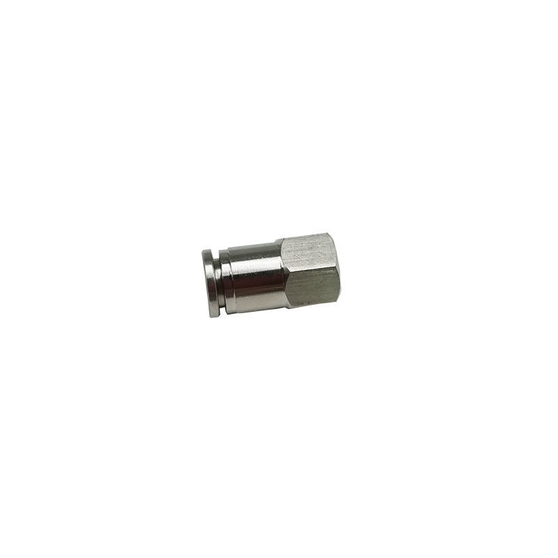 BKC- PCF8-01 Pneumatic Tube Fittings Hydraulic Quick Disconnect 1/8 Inch Ferrule Type