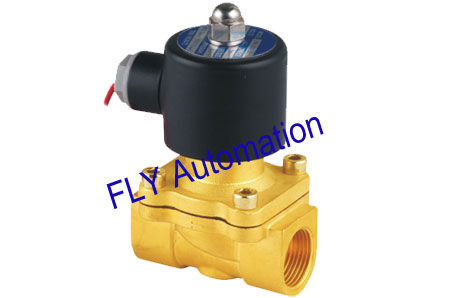 20mm Orifice Unid 2 Way Brass Water Solenoid Valves Replacement 2W200-20