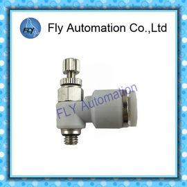 Cina GRLA-M5-QS-6 162.962 One Way Air Flow Valve, Throttle Valve Pneumatic Fittings Distributor