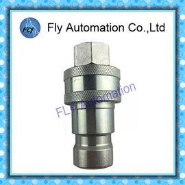 Cina Tujuan Umum 60 Seri ISO7241-1 Seri B Manual katup poppet lengan Kopling Cepat Hidrolik Distributor