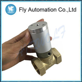 "Q22HD-32 1 1/4 ""DN32 2/2 Way Pneumatic Tube Valve Air Control Valve Actuator Brass Valve"