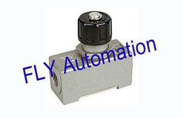 Cina Sebagai adat-02 AC pneumatik salah satu cara aliran kontrol katup alumunium Alloy Distributor